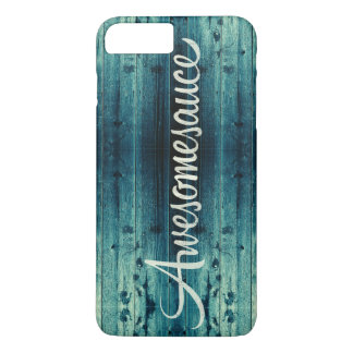Awesomesauce Wood Panel iPhone 7 Plus Case