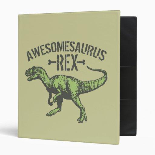 Awesomesaurus Rex Binder