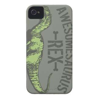 Awesomesaurus Rex Case-Mate iPhone 4 Protectores