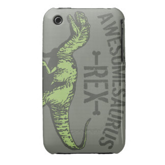 Awesomesaurus Rex iPhone 3 Cases
