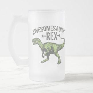 Awesomesaurus Rex Jarra De Cerveza Esmerilada