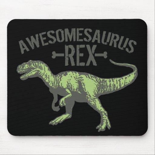 Awesomesaurus Rex Mouse Pad