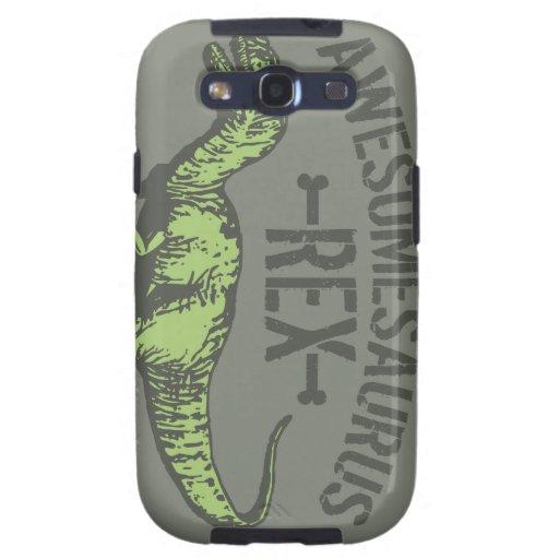 Awesomesaurus Rex Samsung Galaxy SIII Cases