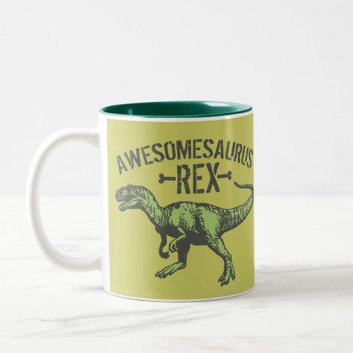 Awesomesaurus Rex Tazas