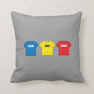 Awesometown Throw Pillow