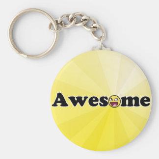 Awesomosity Basic Round Button Keychain