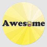 Awesomosity Round Sticker