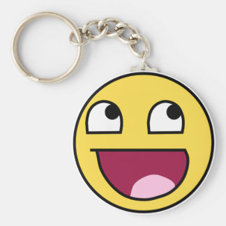 Awespome face keychain