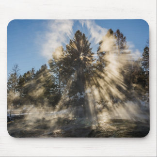 Awestruck! - Crepuscular Rays - Sunlight Mouse Pad