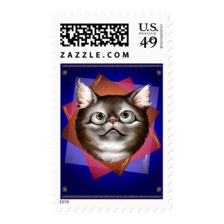 Awestruck Kitty Postage