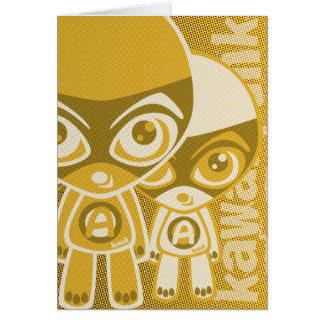 Awestruck Mascot Cards
