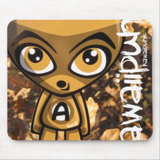Awestruck Mascot Mouse Pad