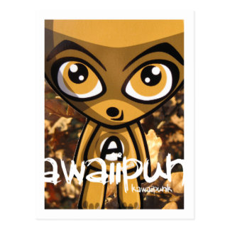 Awestruck Mascot Postcard