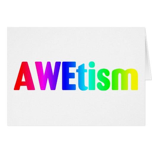 AWEtism Greeting Cards