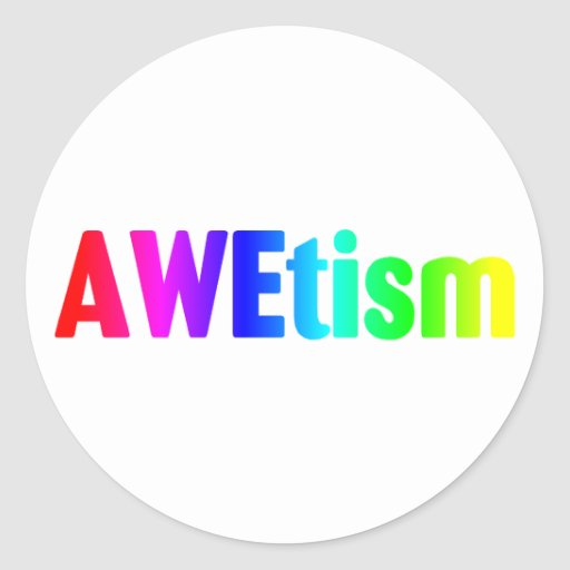 AWEtism Stickers