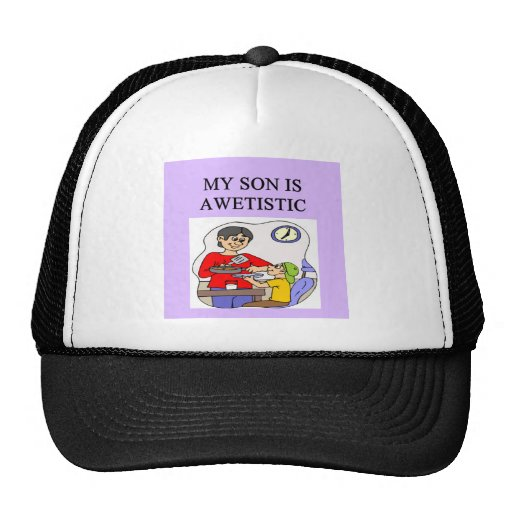 awetistic autistic kifs! express your pride! trucker hat