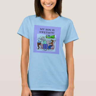 awetistic autistic kifs! express your pride! T-Shirt