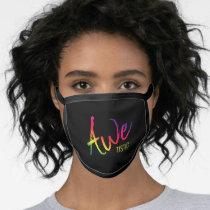 Awetistic Pride Female Autism Awareness Spectrum Face Mask