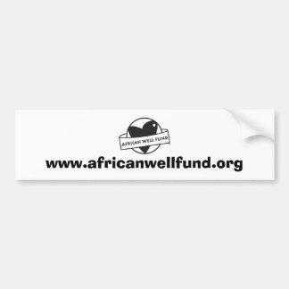 AWF bumpersticker Bumper Sticker