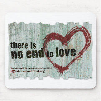 "AWF Mousepad 2015 ""There is no end to love"""
