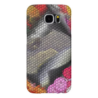 Awful colorful tiles samsung galaxy s6 case