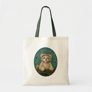 Awfully Cute and That's No Lion Canvas Bag