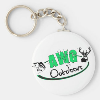 AWG Outdoors Logo Keychain