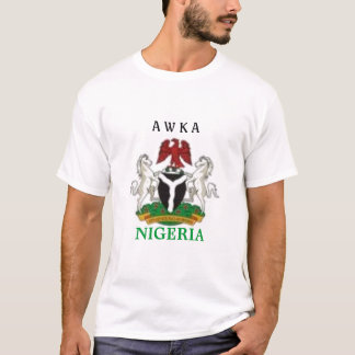awka, anambra state, nigeria  t-shirt