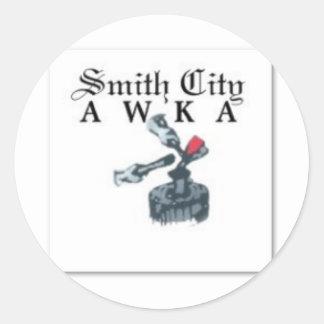 Awka, Anambra state, Nigeria Urban T-shirt And Etc Classic Round Sticker