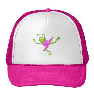 Awkward Ballet Frog Trucker Hat