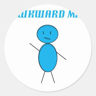 Awkward Man Sticker