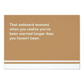 Awkward Moment Anniversary Card
