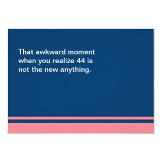 Awkward Moment Birthday Card - Any Year 40s