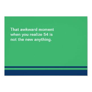 Awkward Moment Birthday Card - Any Year 50s