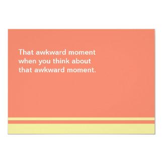 Awkward Moment SORRY Card