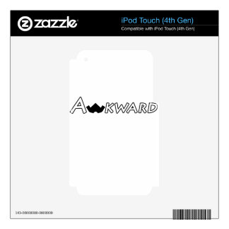 Awkward Objects & Apparel iPod Touch 4G Decals