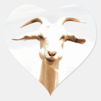 Awkward one heart sticker