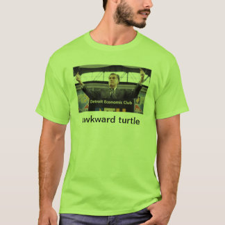 awkward turtle romney election T-Shirt