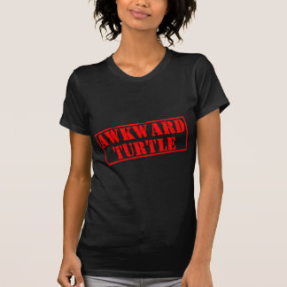 Awkward Turtle Stamp T-Shirt