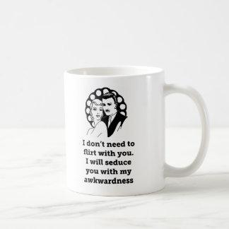 Awkwardness Coffee Mugs
