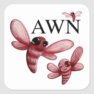 AWN Classic Logo Stickers