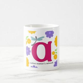 AWN Flowery Logo Mug