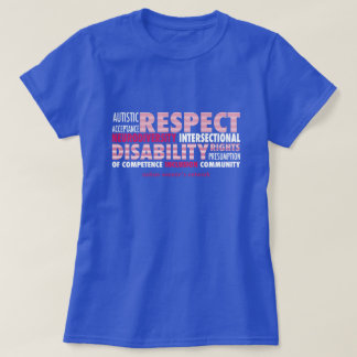 AWN Patriotic Word Cloud T-shirt