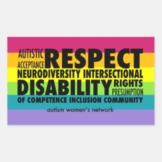 AWN Rainbow Pride Sticker