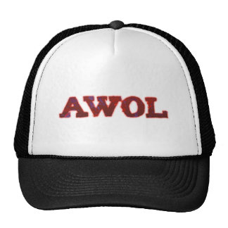 AWOL absent without leave Gorros