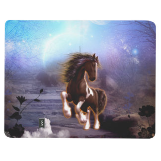 Awsome horse in the night journal