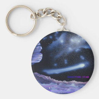 Awsome shooting star keychain