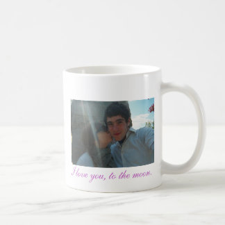 aww1, I love you, to the moon. Coffee Mug