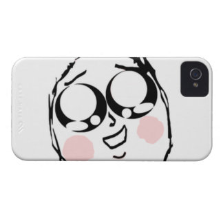 Aww Cute comic face Case-Mate iPhone 4 Case