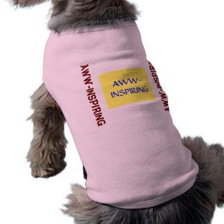 Aww-Inspiring Dog Tee Shirt